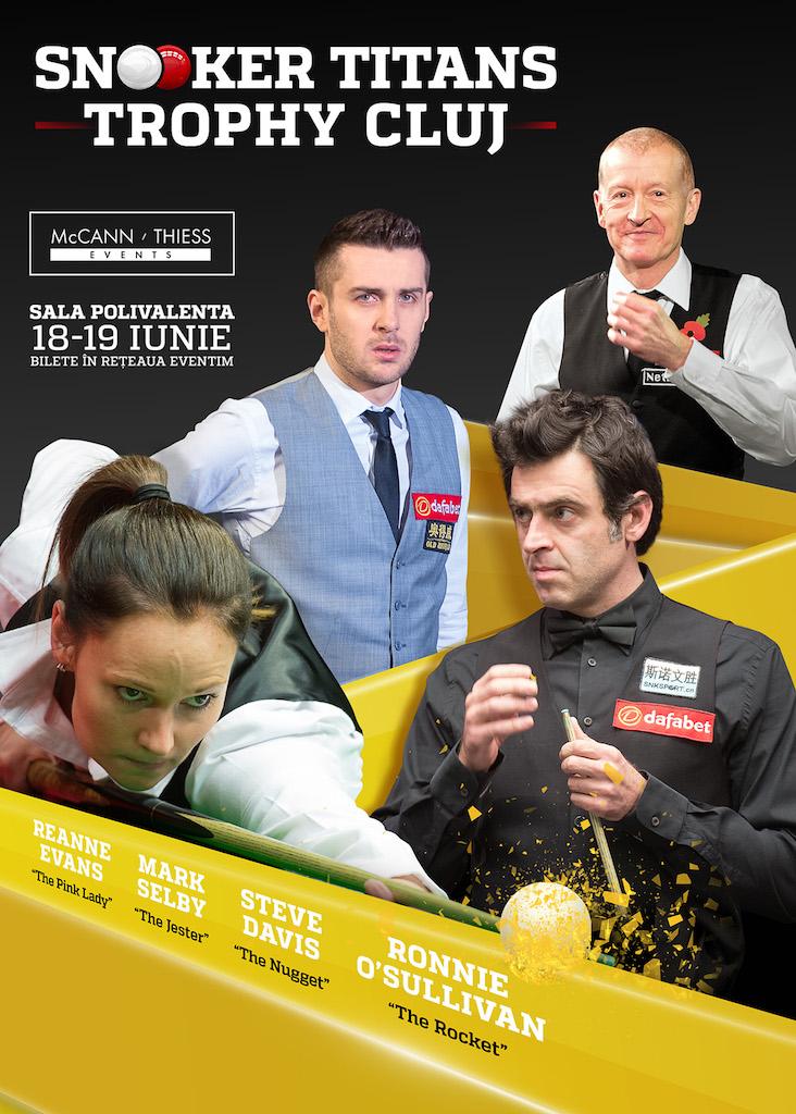 Snooker Titans Trophy @ Sala Polivalentă
