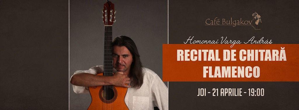 Recital de chitară flamenco @ Bulgakov