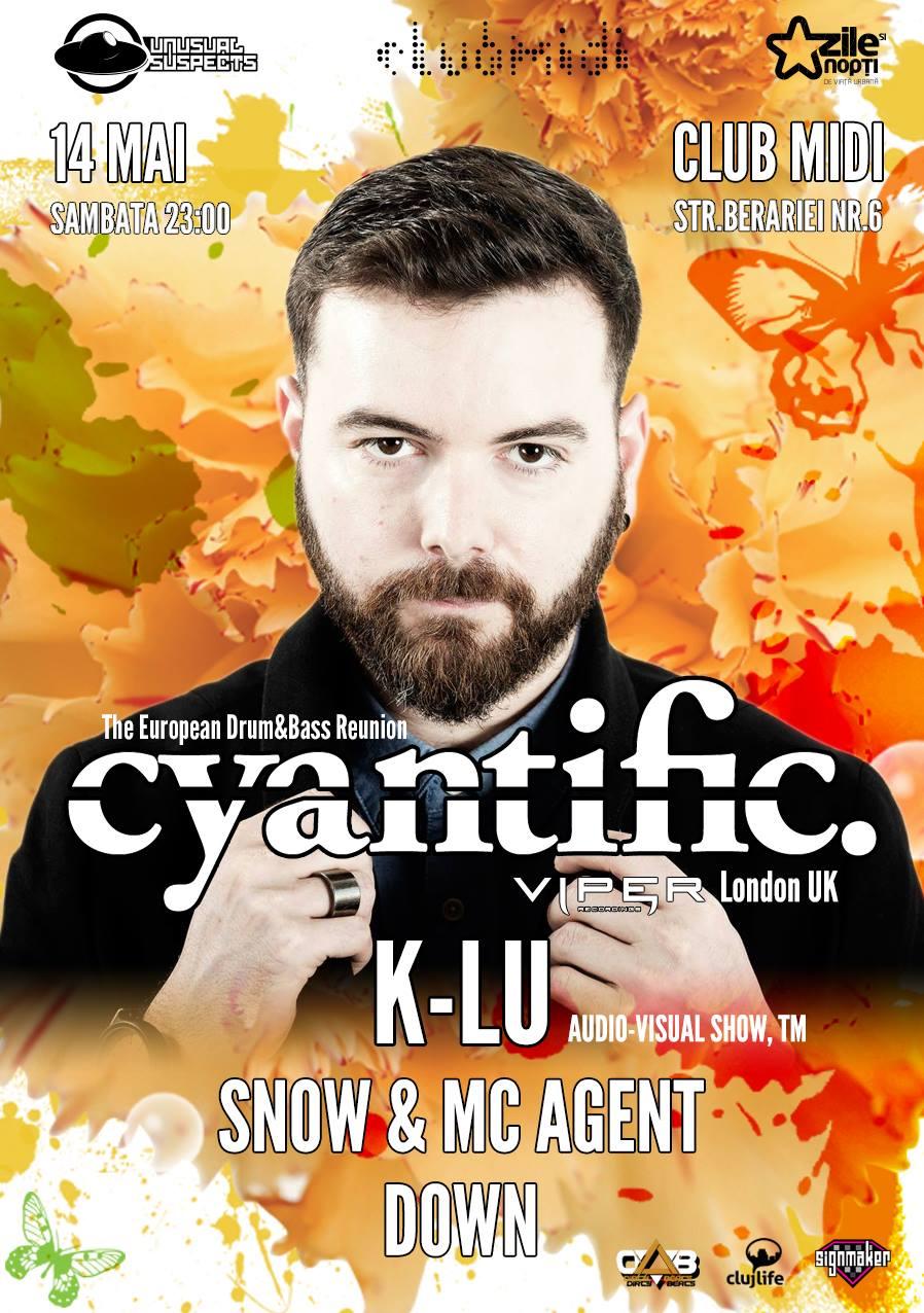Cyantific @ Club Midi