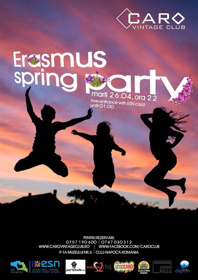 Erasmus Spring Party @ Caro Club
