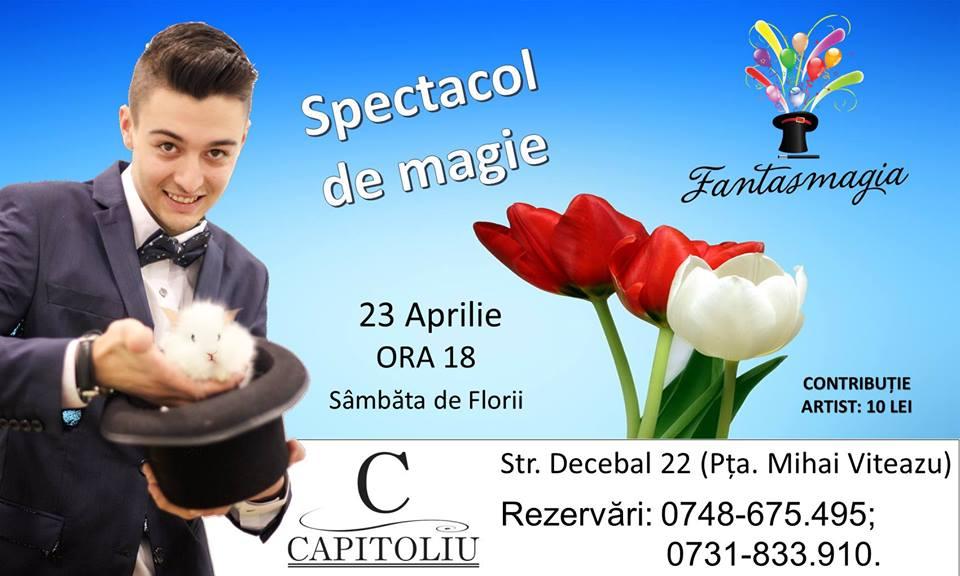 Magie de Florii cu Fantasmagia @ Capitoliu Bistro
