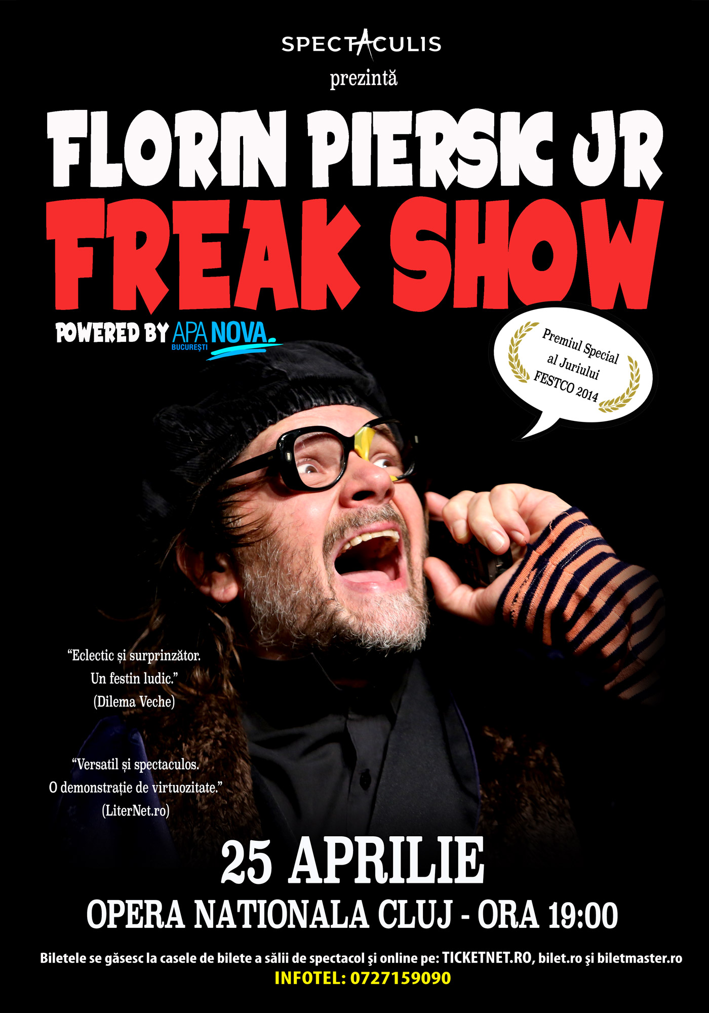 Freak Show cu Florin Piersic Jr