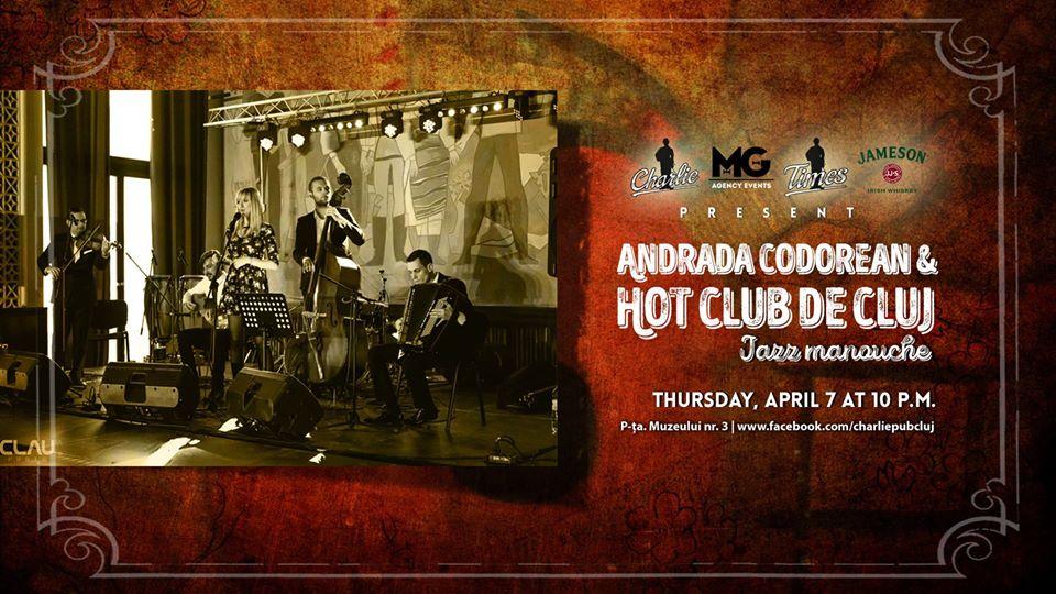 Andrada Codorean & Hot Club de Cluj @ Charlie