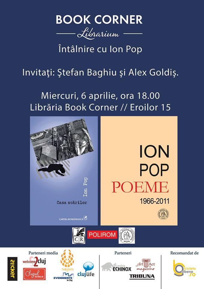 Întâlnire cu Ion Pop @ Book Corner Librarium