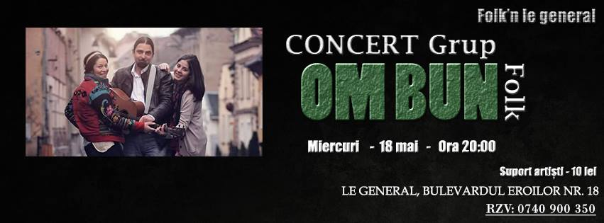 Concert Grup Folk OM BUN @Le Général