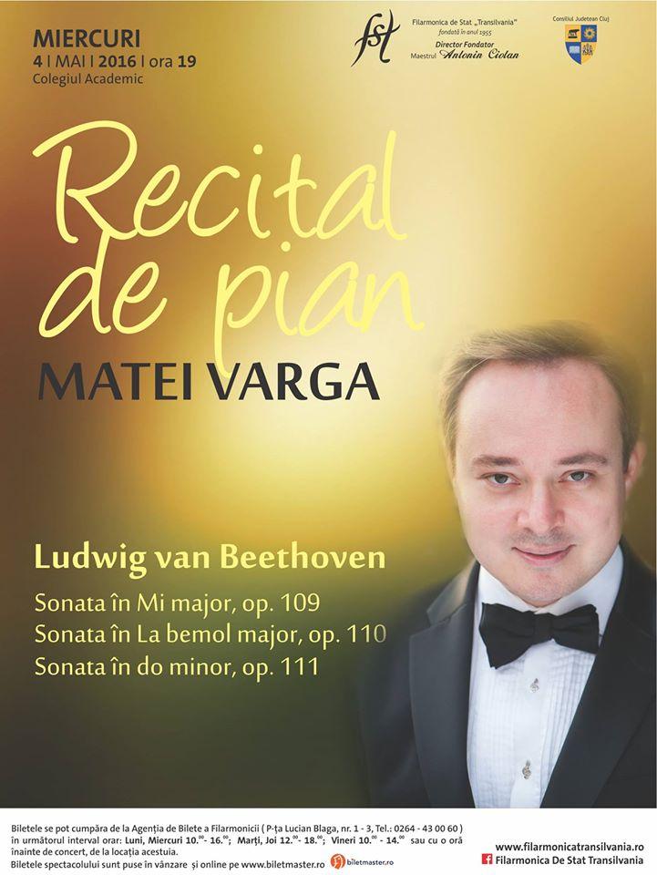Recital de pian @ Auditorium Maximum