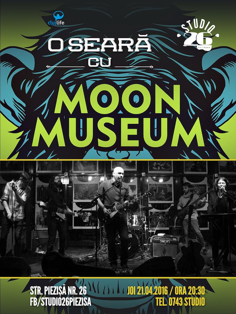 O seară cu Moon Museum @ Studio 26