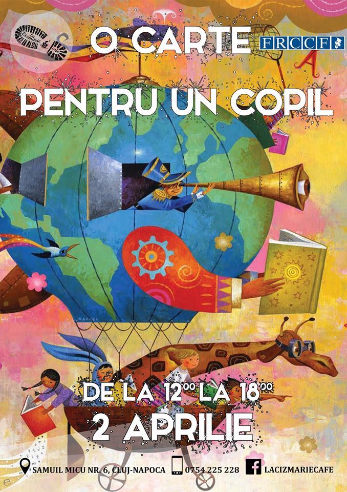 O carte pentru un copil @ La Cizmărie