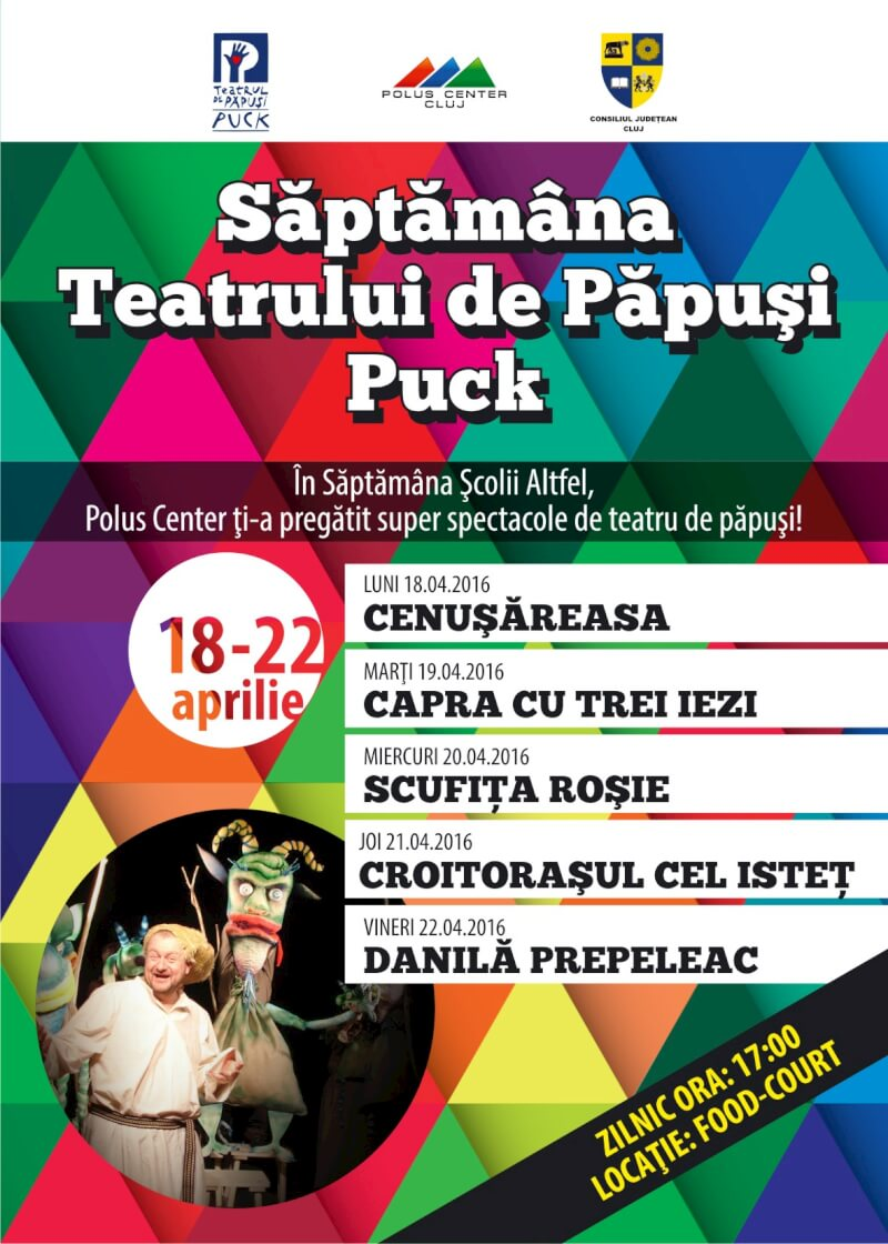 Teatrul de Păpuși Puck @ Polus Center