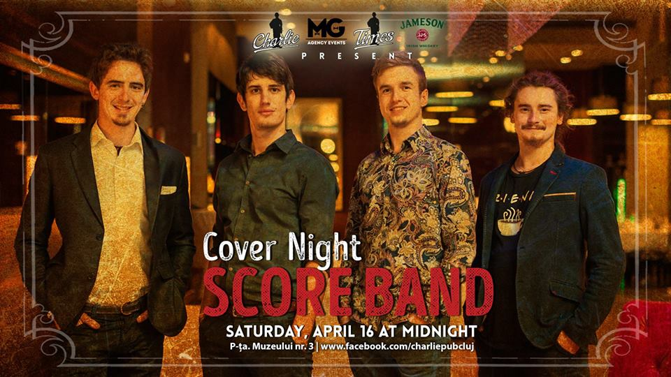 Cover Night w/ Score Band @ Charlie