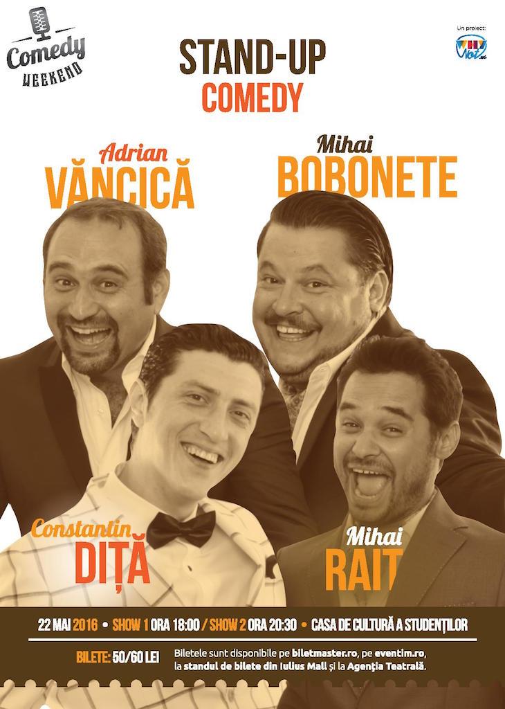 Stand-up Comedy @ Casa de Cultură