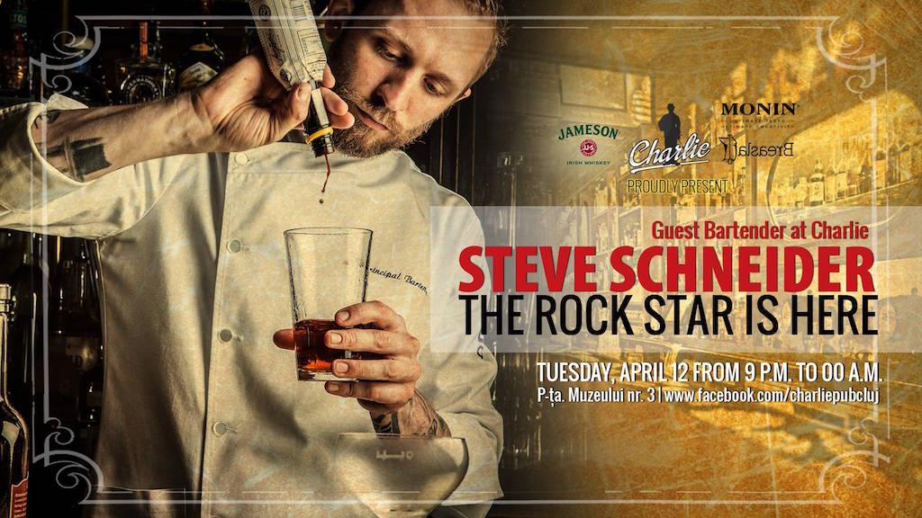 Guest bartending w/ Steve Schneider @ Charlie