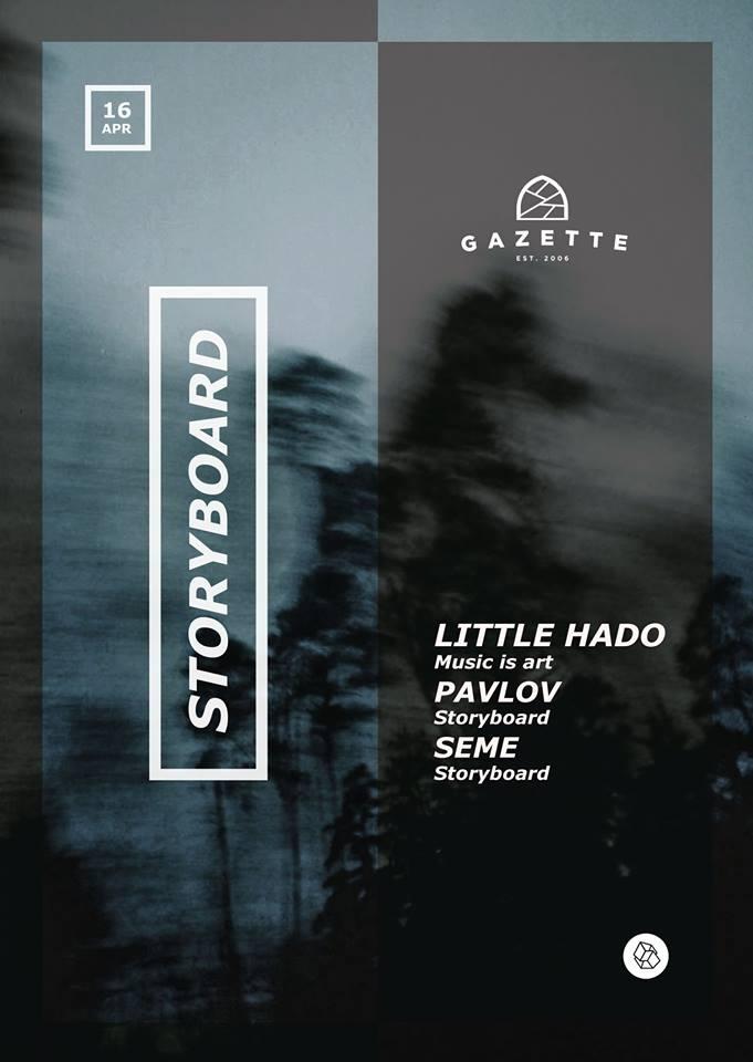Little Hado / Pavlov / Seme @ La Gazette