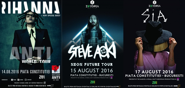 Zutopia Music Festival @ Piața Constituției