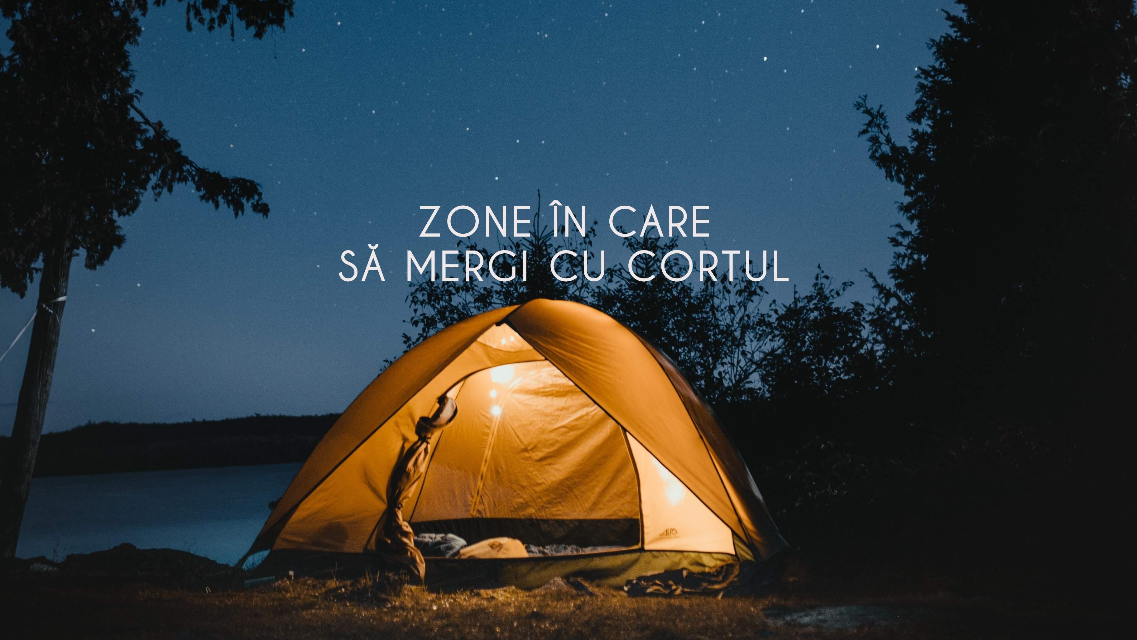 5 zone unde să mergi cu cortul în apropiere de Cluj-Napoca