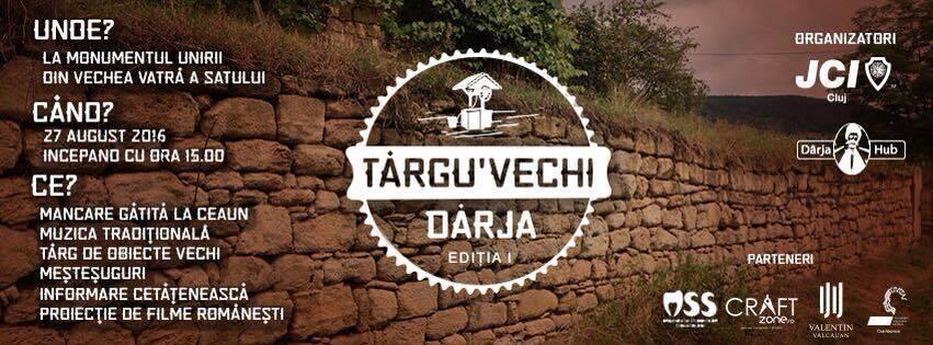 Târg al satului românesc la Dârja, jud. Cluj