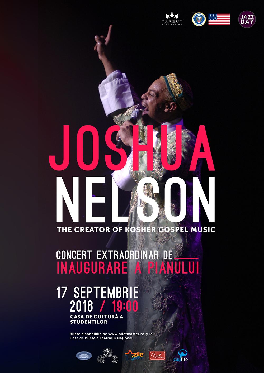 Joshua Nelson @ Casa de Cultură a Studenților