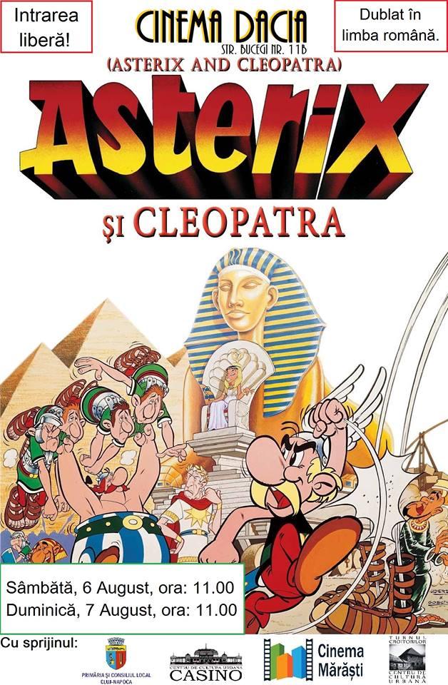 Asterix și Cleopatra @ Cinema Dacia