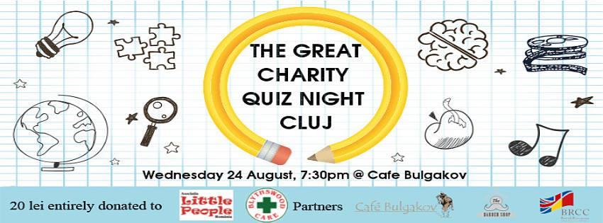 Great Charity Quiz Night @ Bulgakov