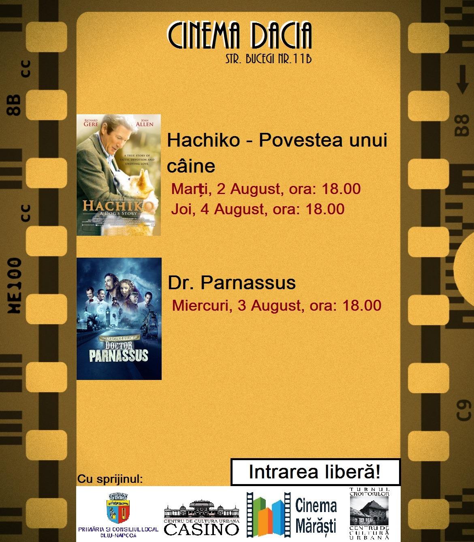 Hachiko și Dr. Parnassus @ Cinema Dacia
