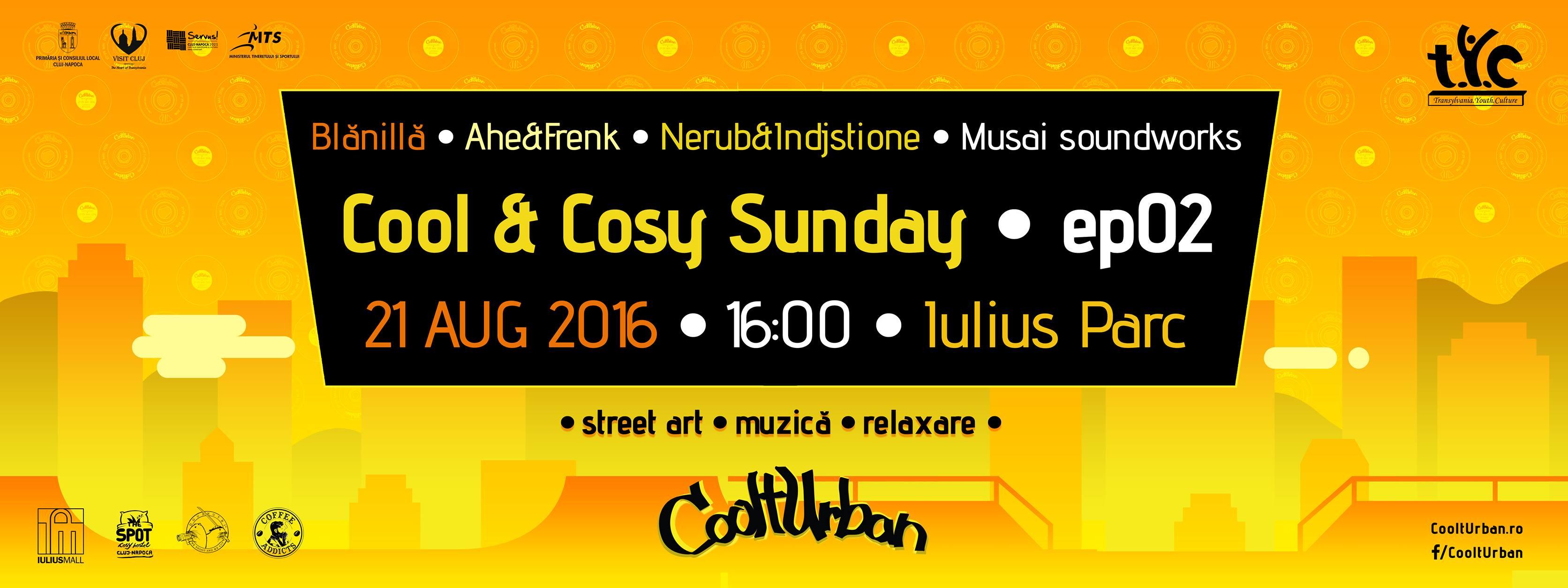 Cool & Cosy Sunday @ Iulius Park