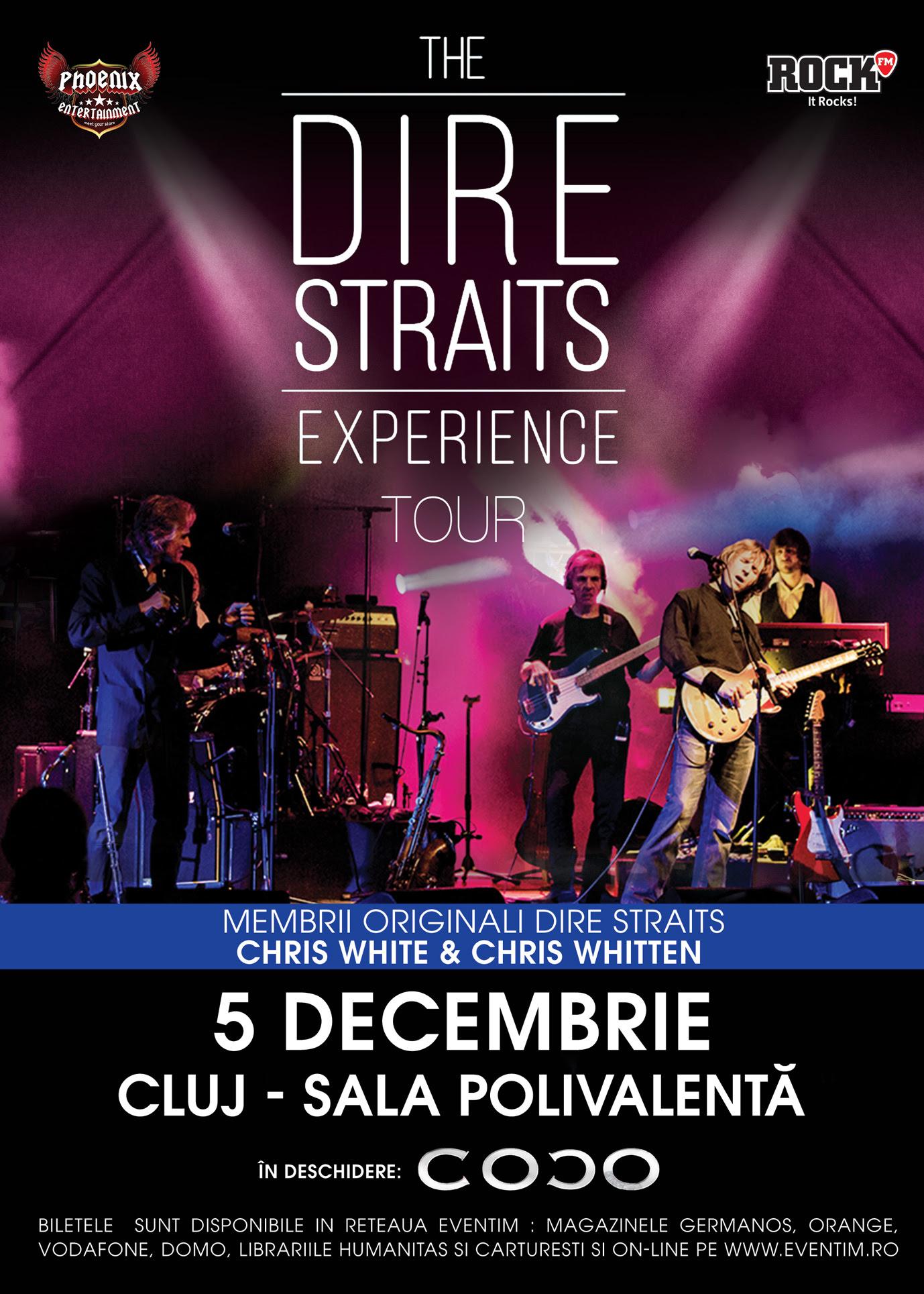 The Dire Straits Experience @ Sala Polivalentă