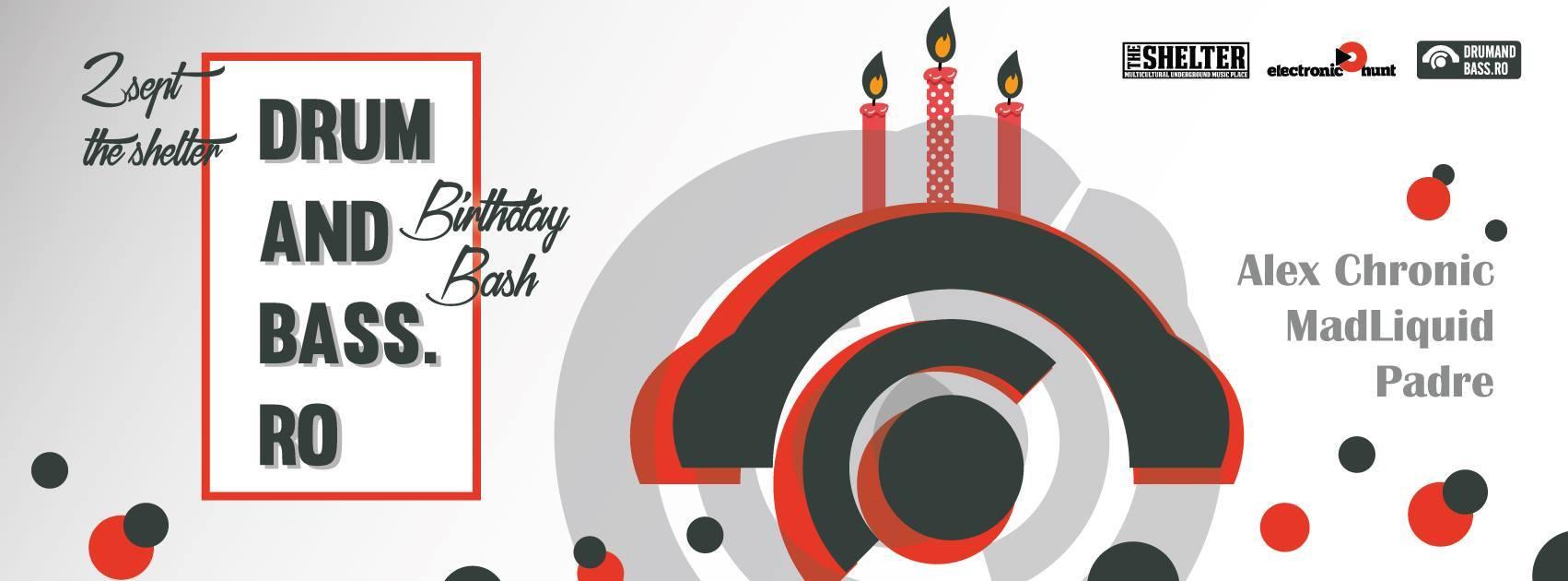DrumAndBass.ro Birthday Bash @ The Shelter
