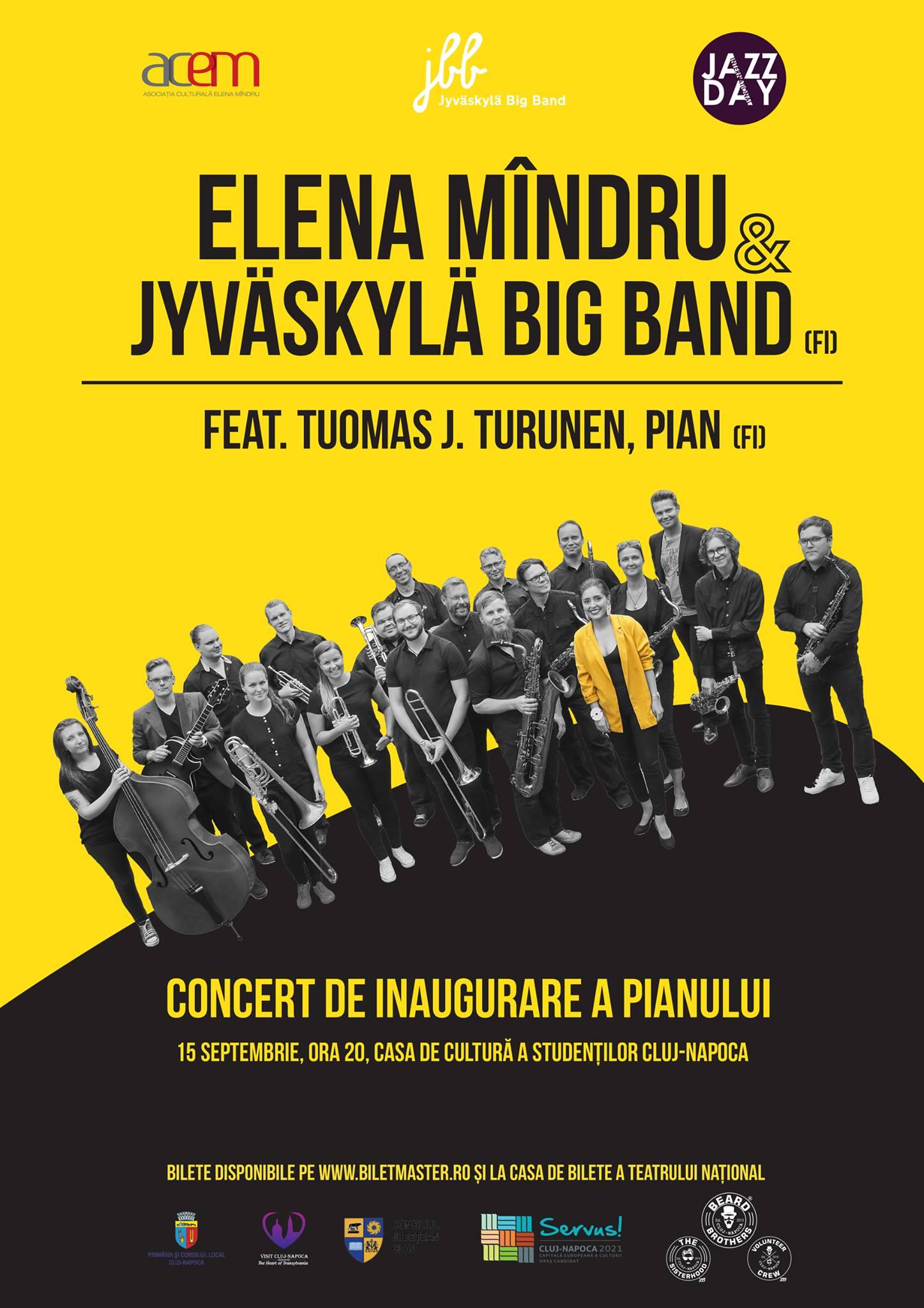 Elena Mîndru & Jyväskylä Big Band @ Casa de Cultură a Studenţilor