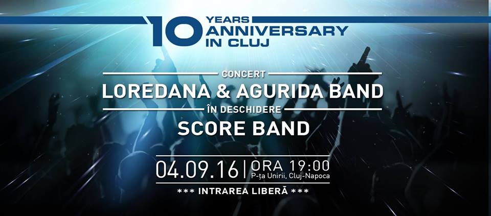 Emerson – 10 Years Anniversary in Cluj