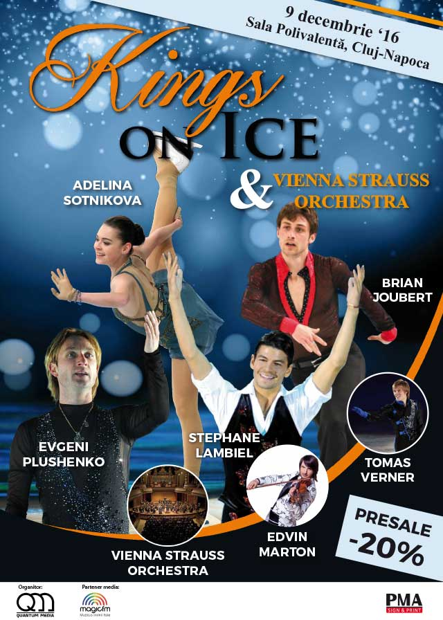 Kings on ice & Vienna Strauss Orchestra @ Sala Polivalentă