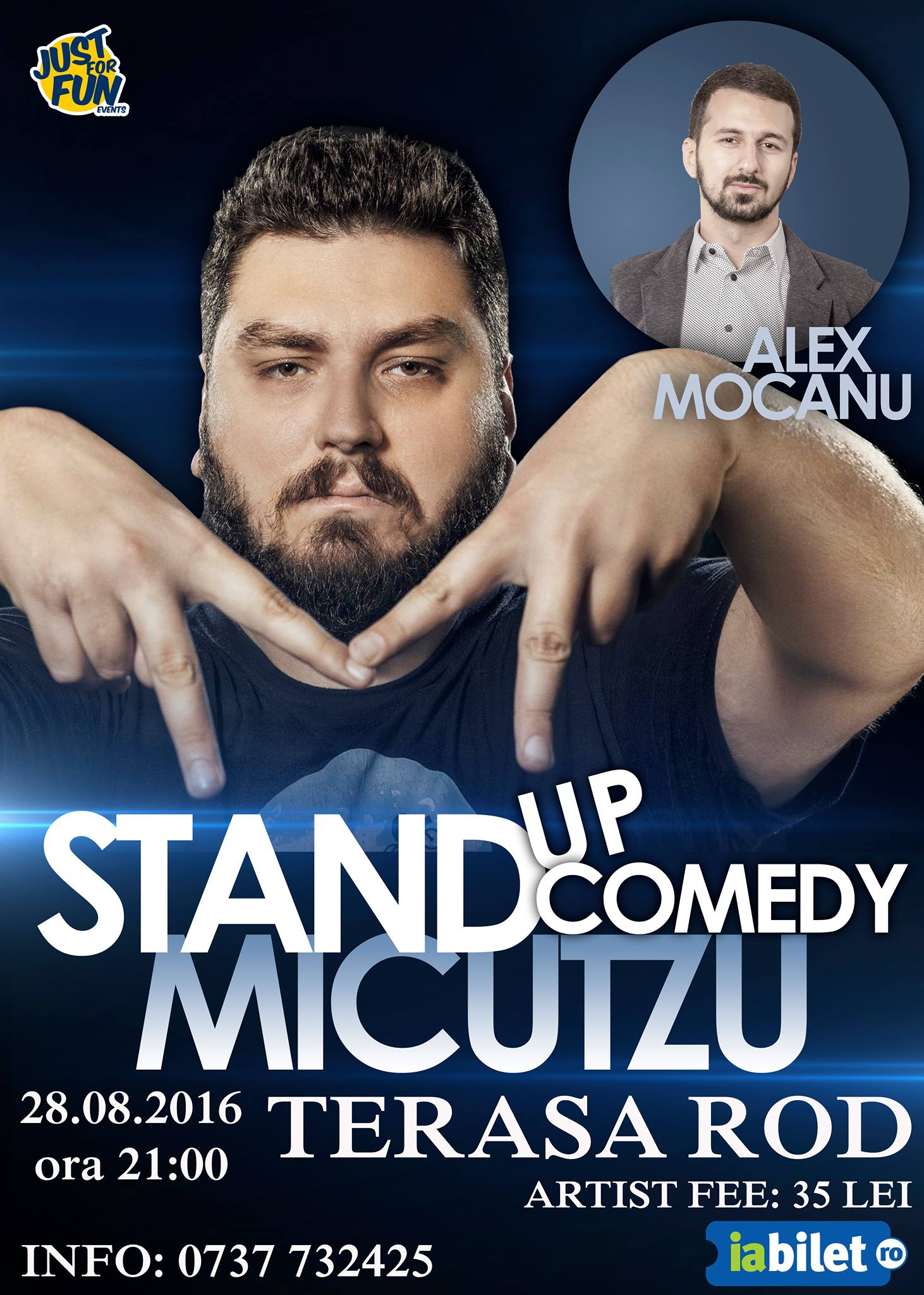 Stand-up Comedy cu Micutzu @ ROD