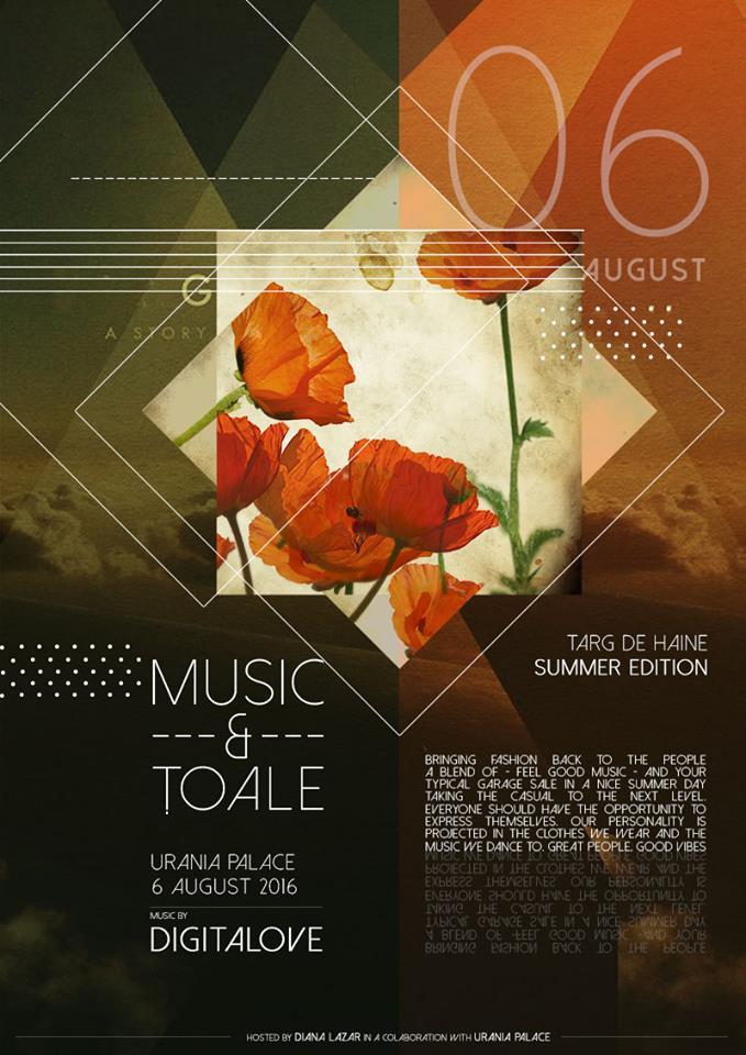 Music and Țoale – Summer Edition @ Urania Palace