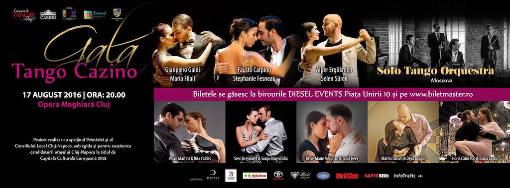 Gala Tango Cazino @ Opera Maghiară