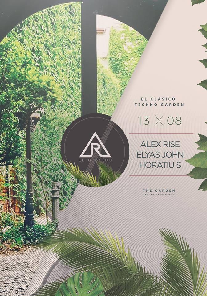 El Clasico Techno Garden @ Garden Terrace