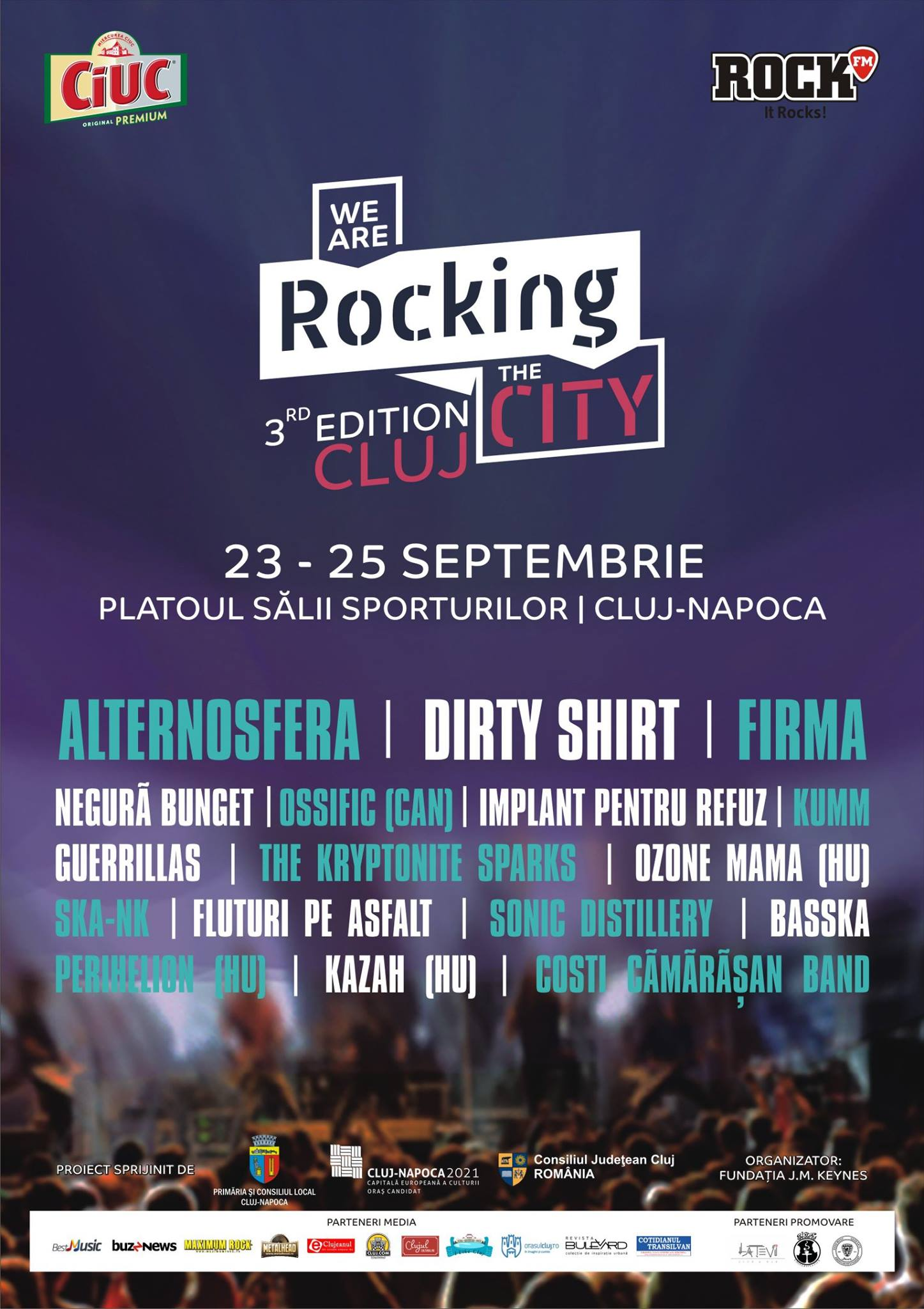 We are Rocking the City @ Platoul Sălii Sporturilor