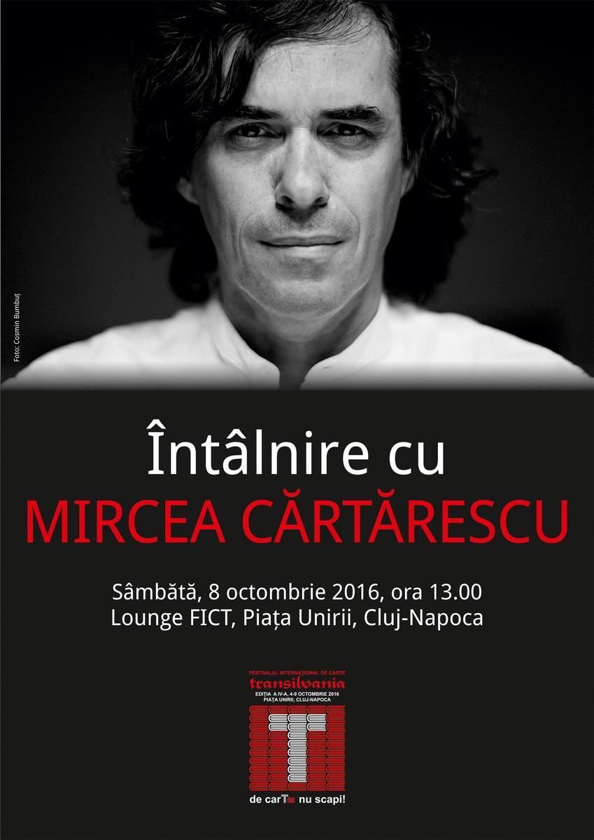 Mircea Cartarescu la FICT 2016