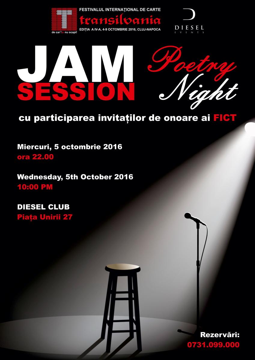 Jam Session – Poetry Night @ Diesel Club