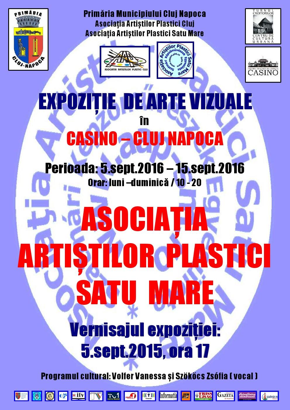 Expoziția Asociației Artiștilor Plastici Satu Mare @ Clădirea Casino