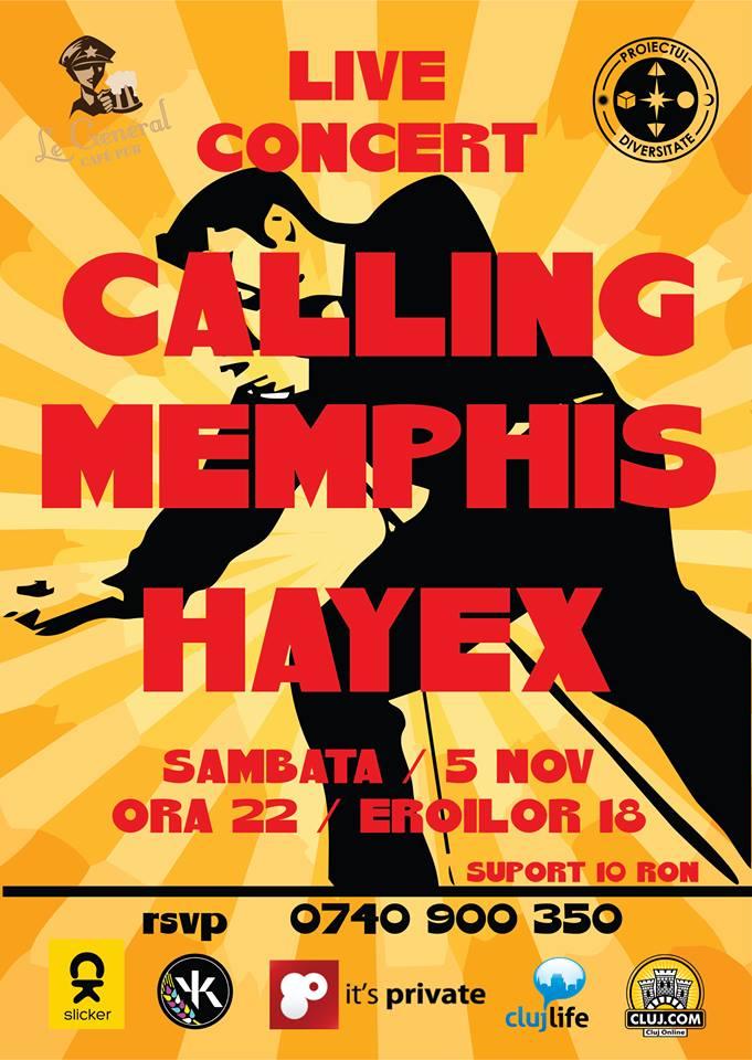 Calling Memphis @ Le General
