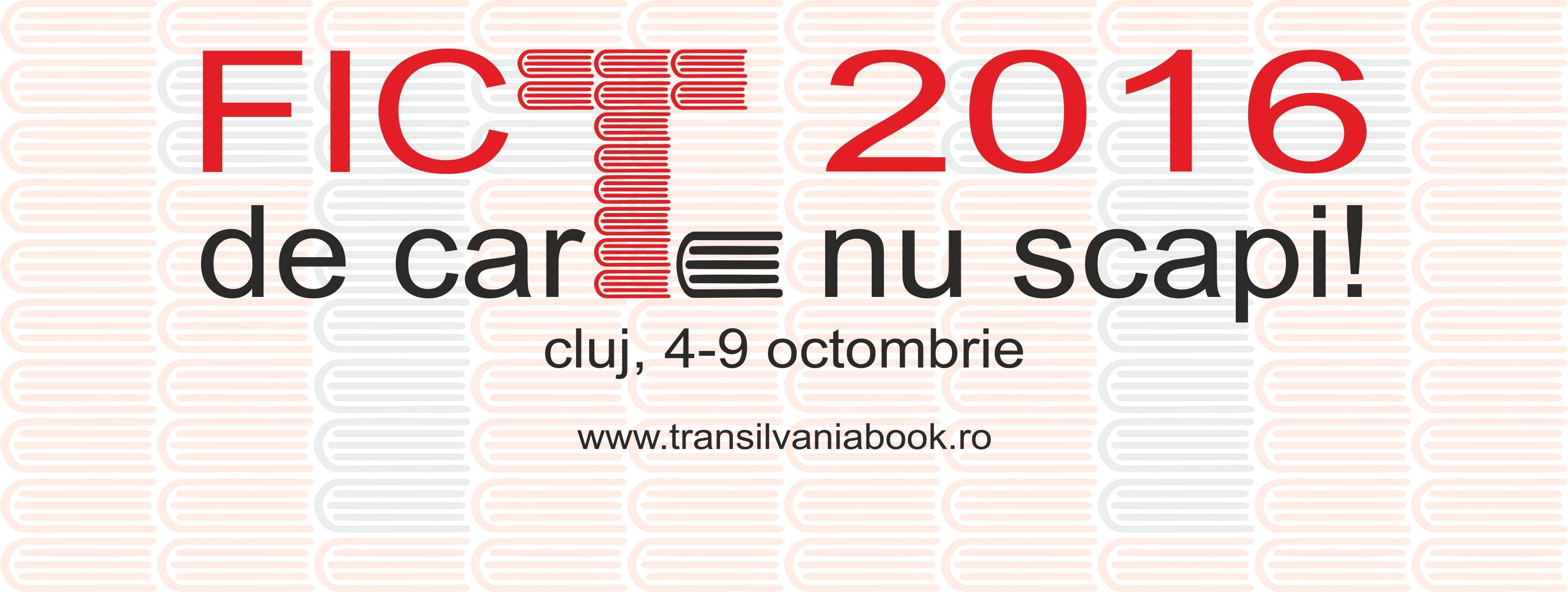 Festivalul Internațional de Carte Transilvania 2016