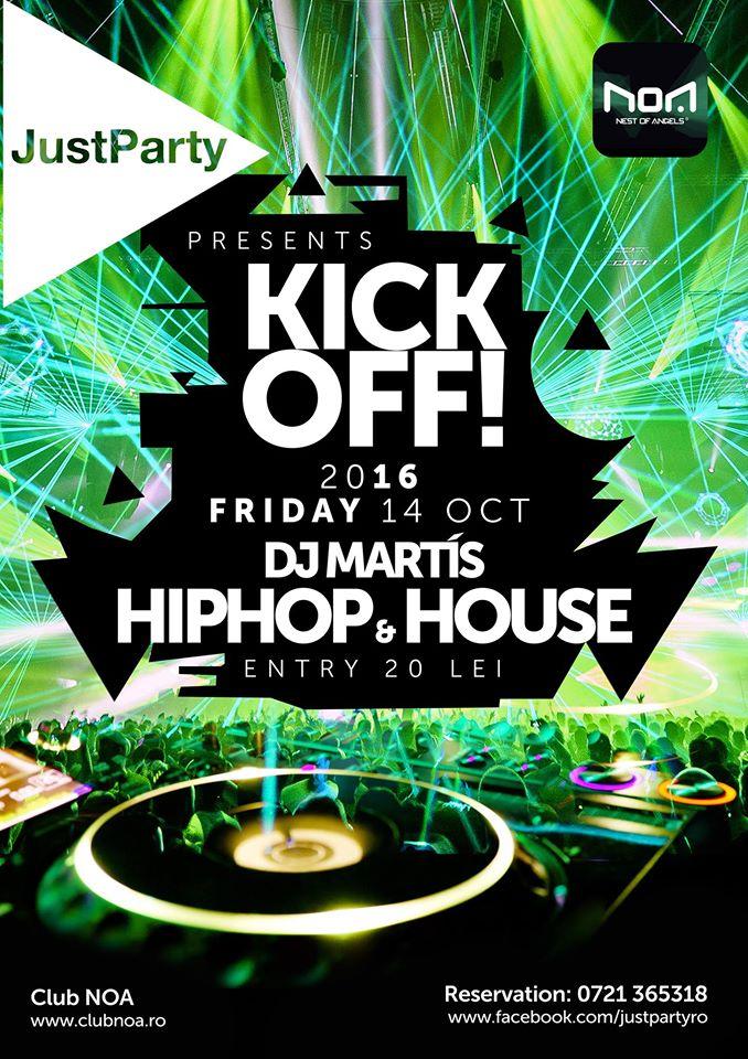Kick-Off Party @ Club NOA