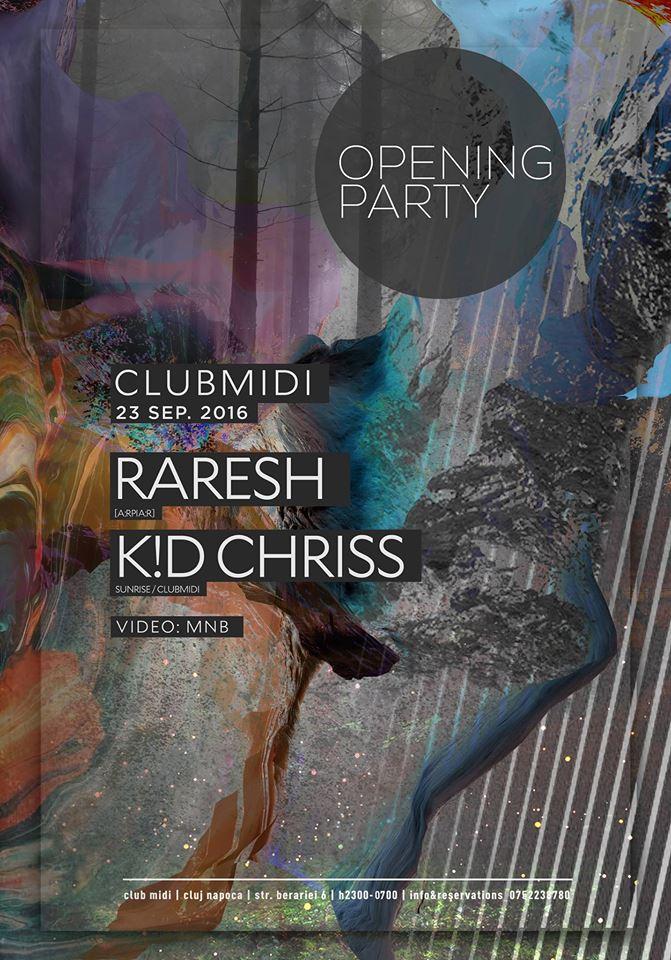 Raresh / K.D.Chriss @ Club Midi
