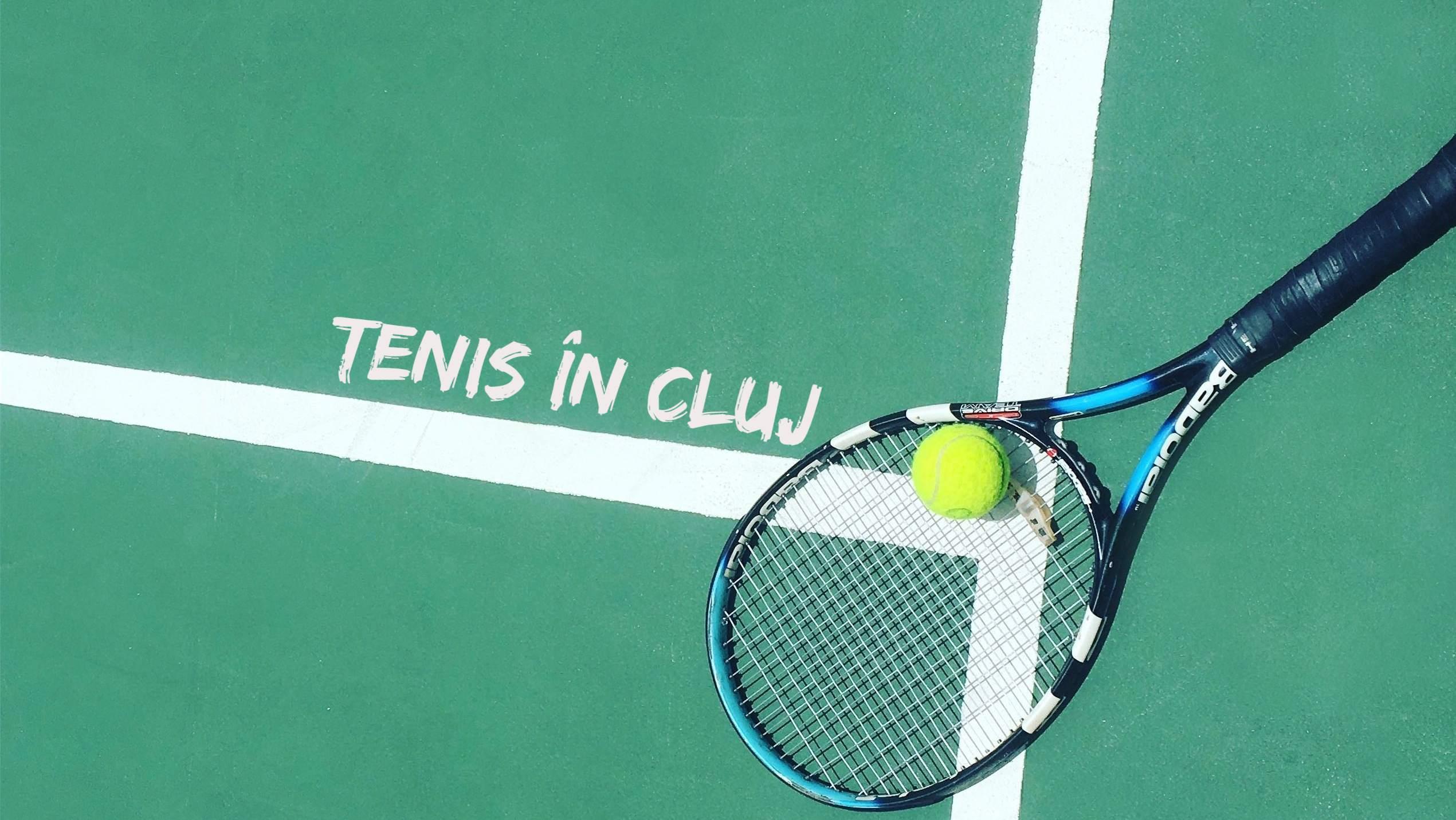 Unde poți juca tenis în #Cluj?