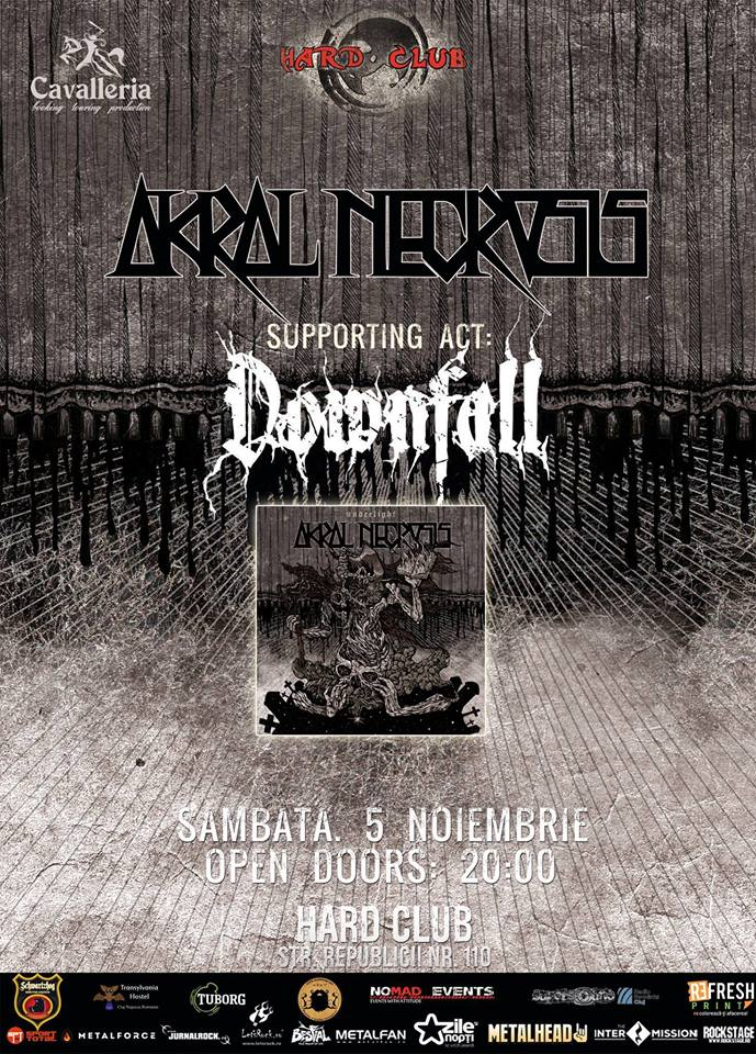 Akral Necrosis / Downfall @ Hard Club