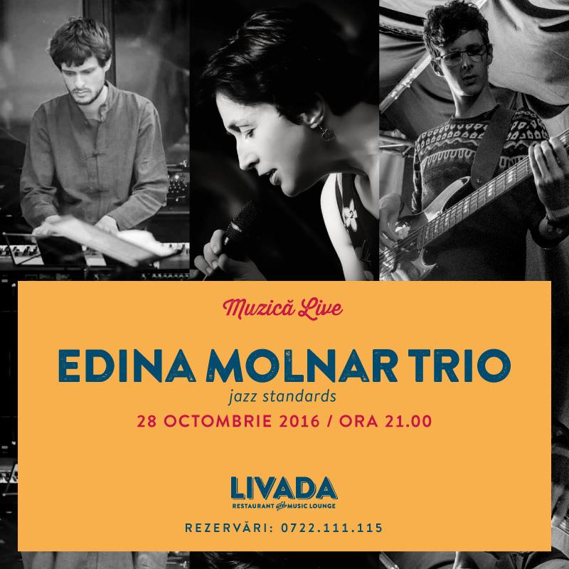 Edina Molnar Trio @ Restaurant Livada