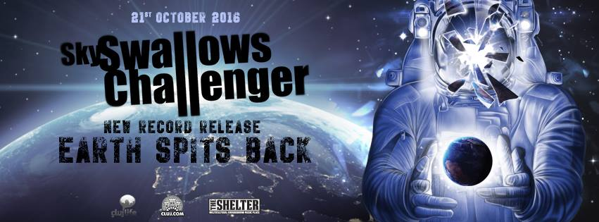 Sky Swallows Challenger – Earth Spits Back [New Record Release]