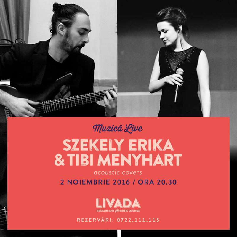 Szekely Erika & Tibi Menyhart @ Restaurant Livada