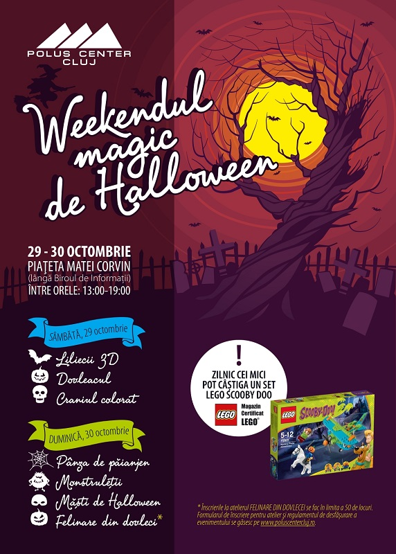 Weekendul magic de Halloween @ Polus Center