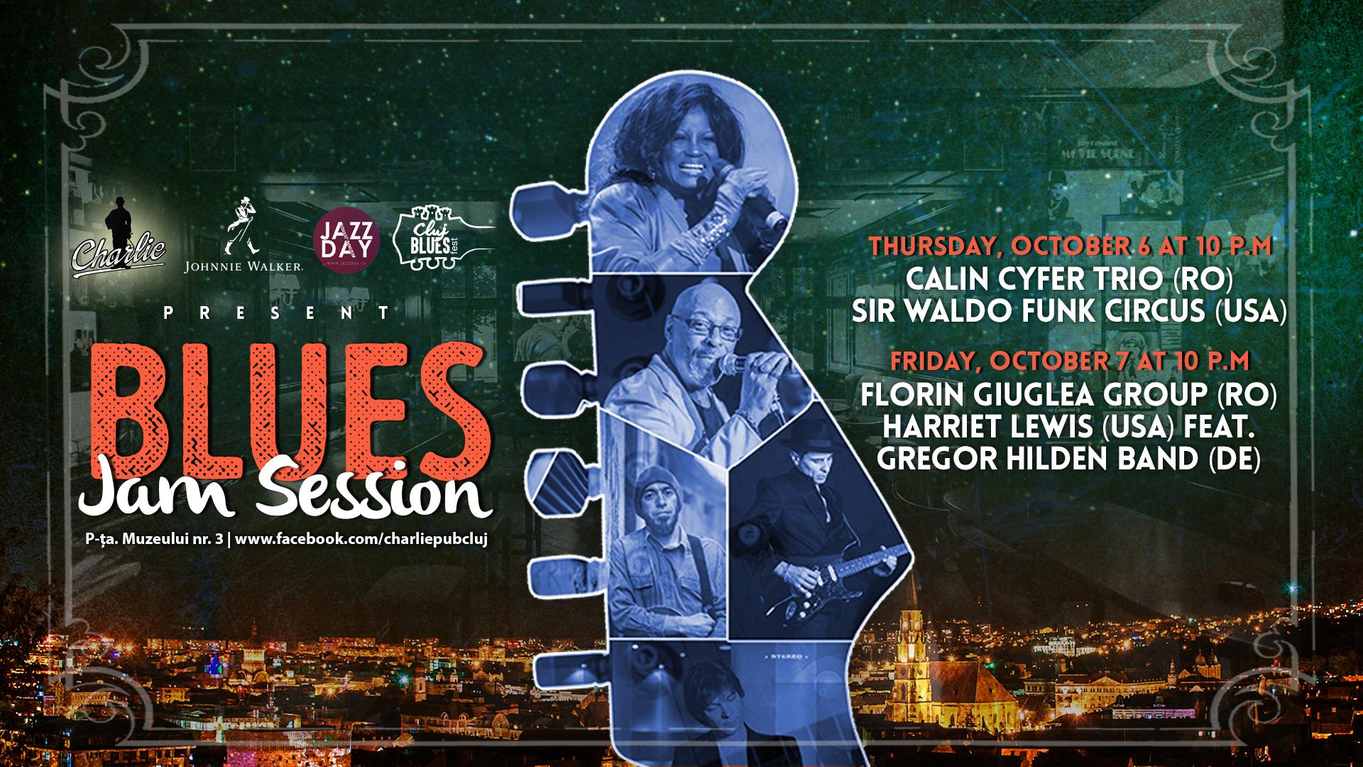 Blues Jam Session @ Charlie