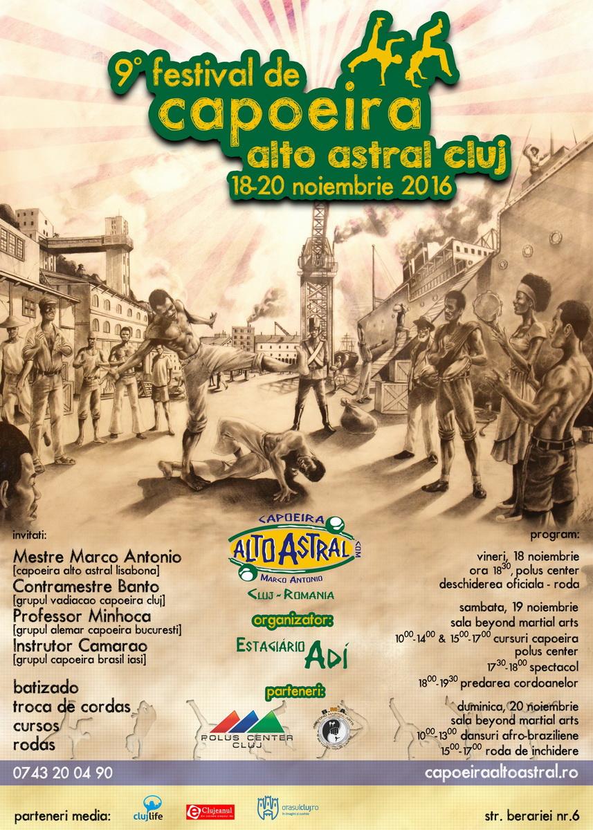 Festival de Capoeira Alto Astra Cluj @ Vivo! Cluj